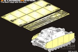 PEA405 WWII German Sturmpanzer IV Brummbar Late Version Side Skirts(For TAMIYA 35353)