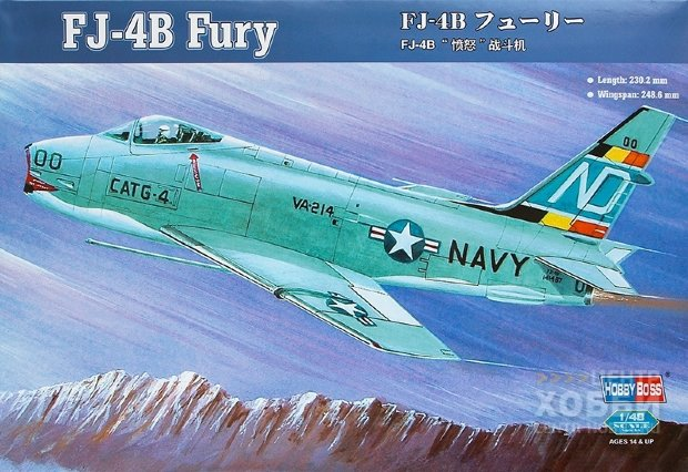 80313 1/48 Самолет FJ-4B Fury Fighter-Bomber