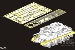 PEA406 WWII British Grant Medium Tank Track Covers(For TAKOM 2086)