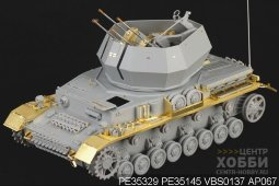 "PE35329 1/35 WWII German 20mm Flakpanzer IV ""Wirbelwind"" (For DRAGON 6540)"