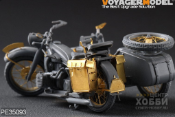 PE35093 WWII German Motorcycle R-12 (For Zvezda 3607)