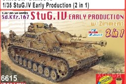 6615 1/35 StuG.IV Early Production (2 in 1)