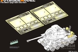 PEA421 WWII Soviet tank exterior tanks and smoke gernerators 2.0(GP)