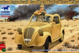 "CB35164	1/35	""Italian Light Staff Car (Open Top) w/Crew """"Libya"""""""