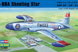 81723 Самолет F-80A Shooting Star fighter