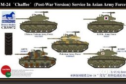 CB35072 1/35 M24 Chaffee (Post-War Version) Service in Asian Army Force