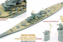 IMW-70004R1 1/350 Iowa For T31616 Teak color (click)