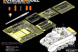 PE35677 WWII US M3A3 Stuart light tank (For AFV AF35053)