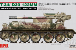 RM-5030 1/35 T-34/D30 122mm Syrian Self-Propelled Howitzer