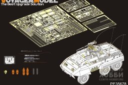 PE35678 WWII US M20 armored utility car basic (atenna baseinclude)(For TAMIYA 35234)