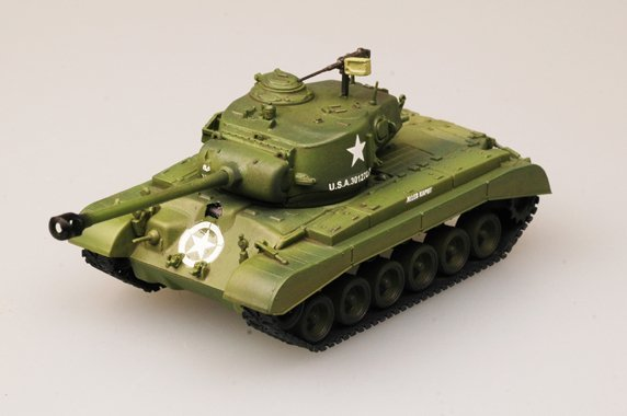 36200 1/72 Танк M26 Pershing, Tank Company A, 18th Tank