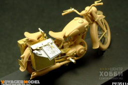 PE35114 1/35 DKW NZ350 MOTORCYLE (For TAMIYA 35241)