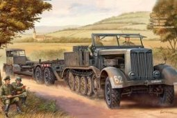 07275 1/72 Танк German Sd.Kfz.9(18t)Helf-Track With Sd.