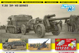 6918 Sd.Kfz.7 8(t) Halftrack + s.FH.18 Howitzer
