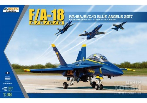 KI-K48073 1/48 BLUE ANGELS 2017 F/A-18A/B/C/D