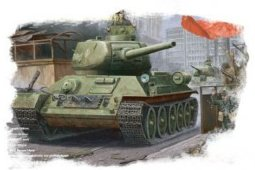 84809 1/48 Танк T-34/85 Tank(Model 1944 angle-Jointed t