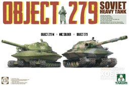 5005 1/72 Soviet Heavy Tank Object 279 Object 279M + NBC Soldier + Object 279