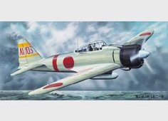 02405 1/24 Самолет Mitsubishi A6M2b Model 21 Zero Fight