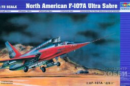 01605 1/72 Сборная модель F-107A North American, Ultra Sabre